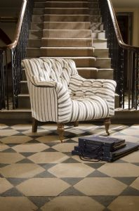 Tetrad Yale Chair in Ralph Lauren Signature Fabric